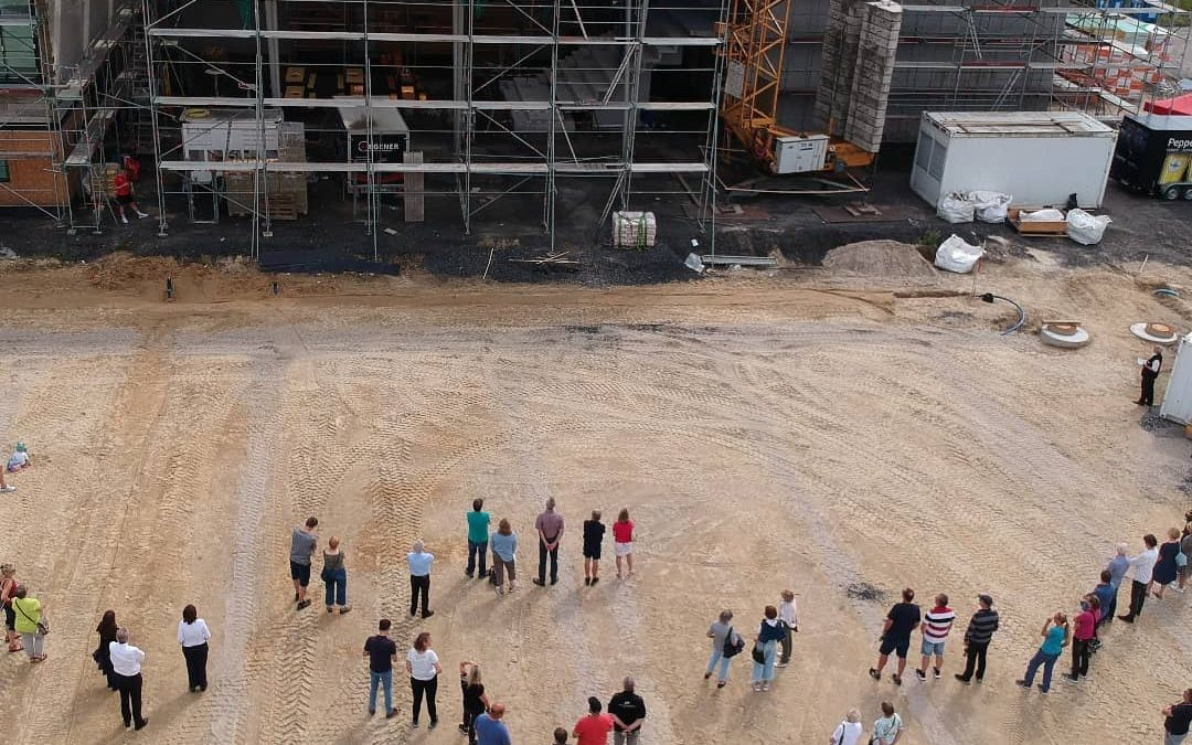 Richtfest vom Neubau des TSV Handorf